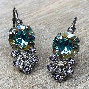 Sorrelli Pastel Lilac Crystal Earring, NWT
